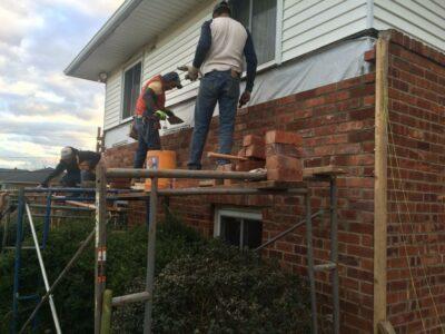 Masonry Wall Building Fairfax VA