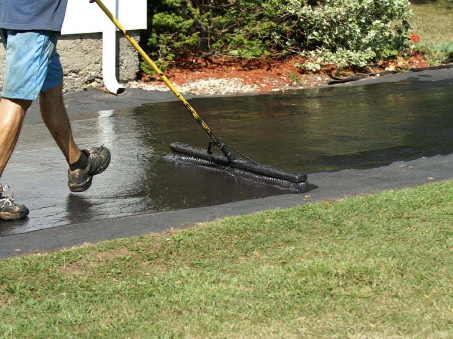Seal Coating Driveways in Fairfax, VA