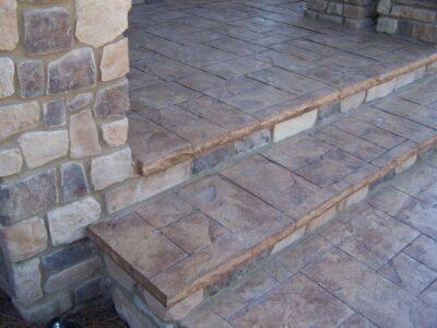 Stamped concrete installers Fairfax, VA