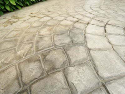 Pressed Concrete Installed in Fairfax, VA