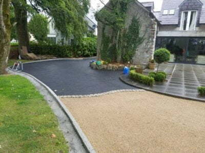 Tar and chip driveway installers for Fairfax VA